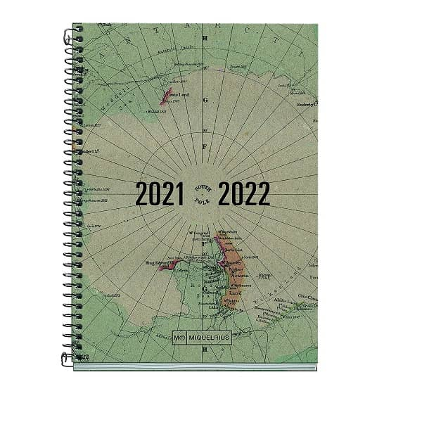 Agenda Recycled Map
