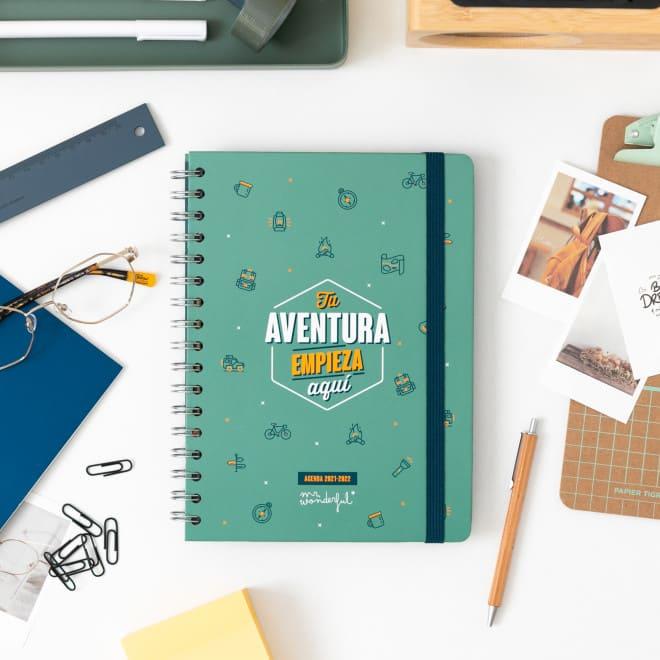 agenda mr wonderful tu aventura empieza aqui
